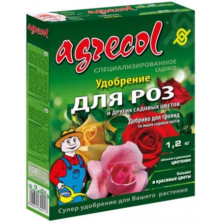 Добриво Agrecol для роз і садових квітів, 1.2 кг