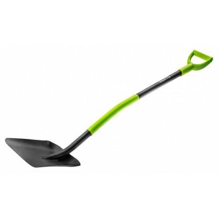 Лопата совкова Verto, пластиковий тримач (15G012)