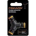 Конектор Fiskars 3-х контактний, 11,6 см, 20 г, Watering