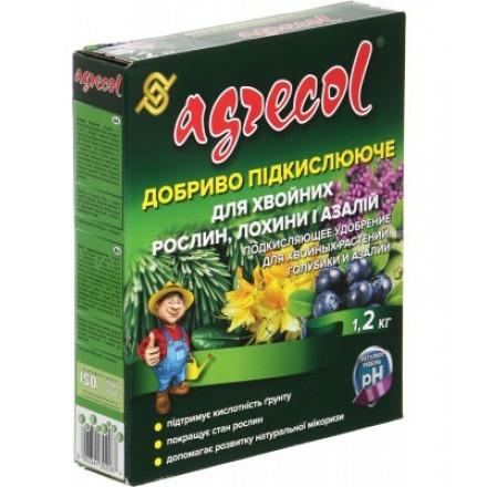 Мінеральне гранульоване добриво для хвойних, лохини та азалій Agrecol, 1.2 кг